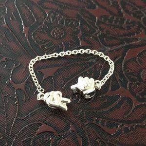 Pandora Disney Mickey hands safety chain